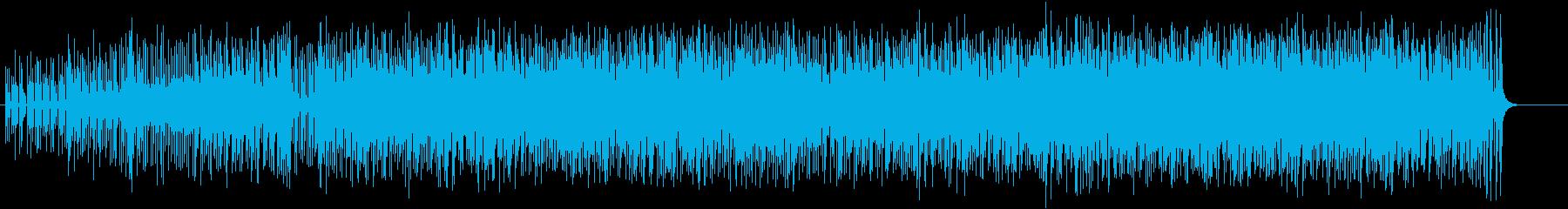 少しアンニュイなのに逆らえないボサノバの再生済みの波形