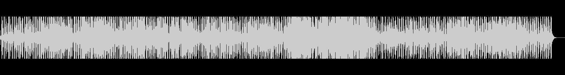 [生演奏]軽快なアコギのリズミカルな曲の未再生の波形