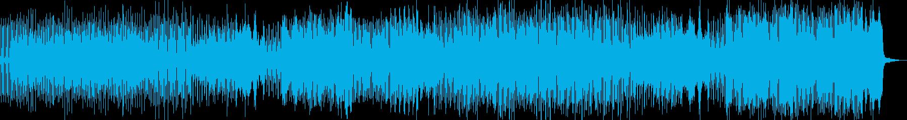 不気味可愛いハロウィン調 ドラム有 Cの再生済みの波形