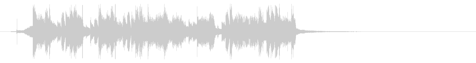 洋楽ポップ、アコギ、ムード、トラップの未再生の波形