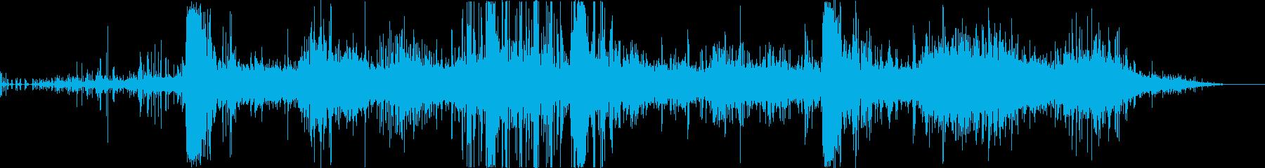 【ゲーム】 戦場_01 岩が崩れるの再生済みの波形