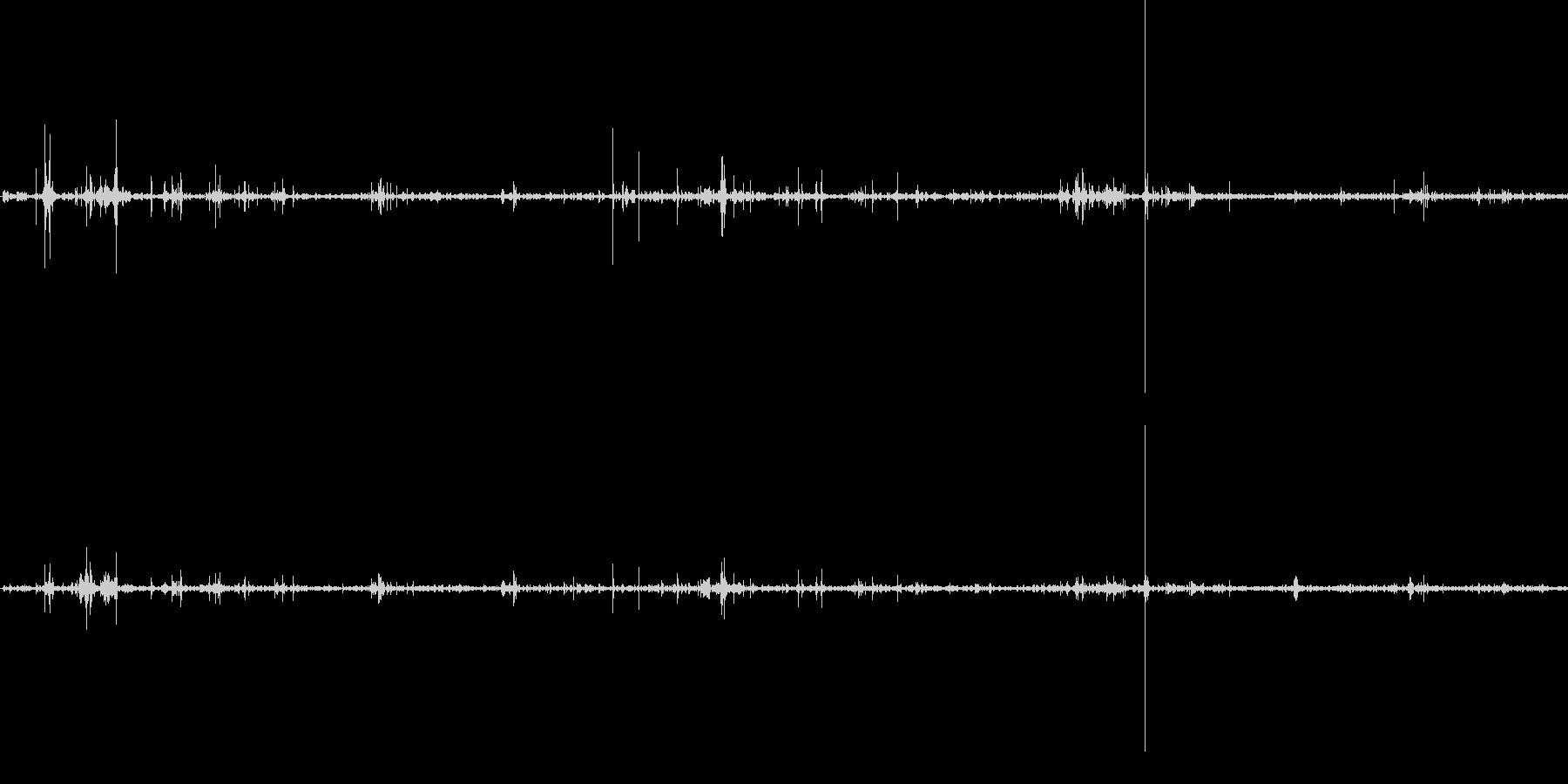 ねんえきネバネバの未再生の波形
