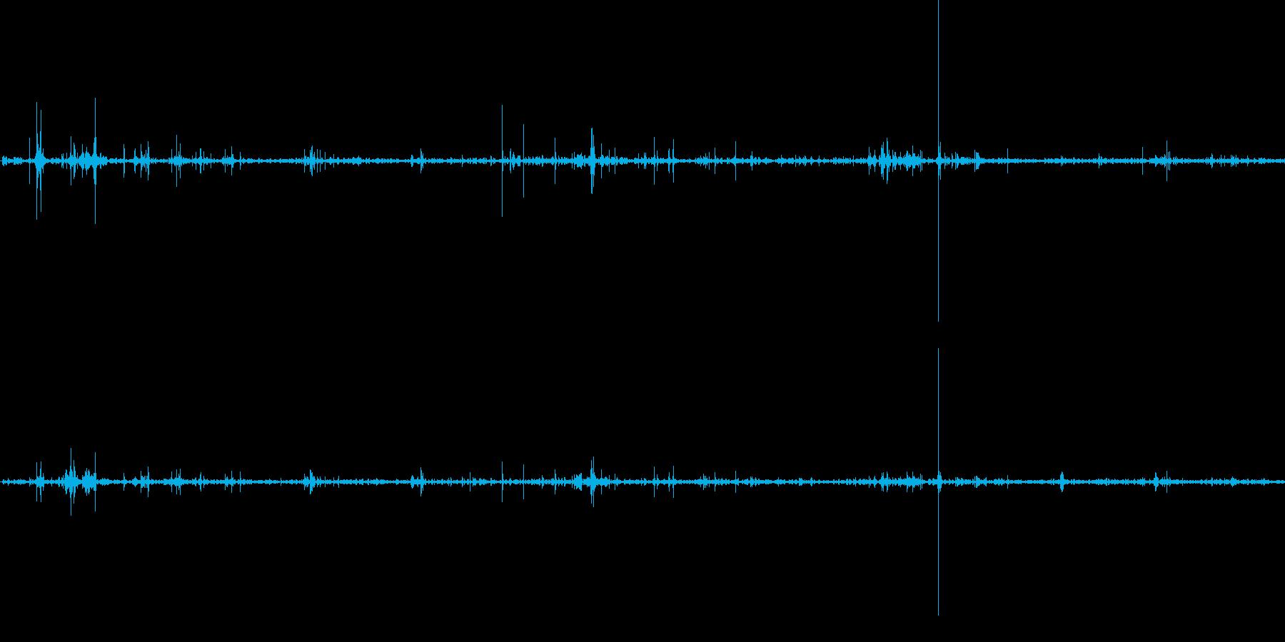 ねんえきネバネバの再生済みの波形