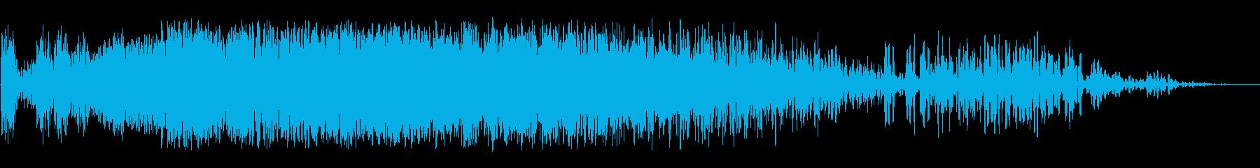 天体イベント2の再生済みの波形