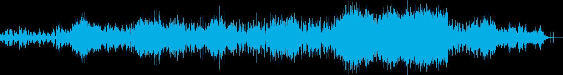 幻想的で不思議な感覚のエレクトロニカの再生済みの波形