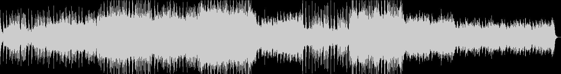 3拍子シンセアンビエントミュージックの未再生の波形