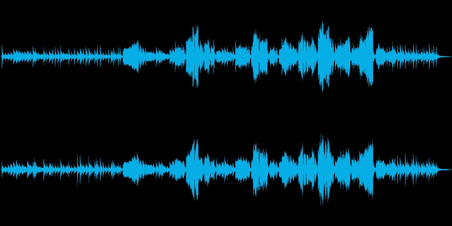 生演奏「オンブラマイフ/ラルゴ」ヘンデルの再生済みの波形