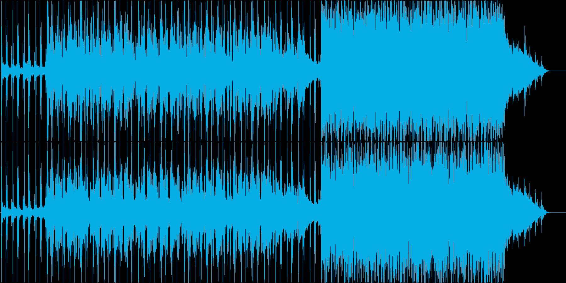 やってはいけないことを音楽にしました。の再生済みの波形