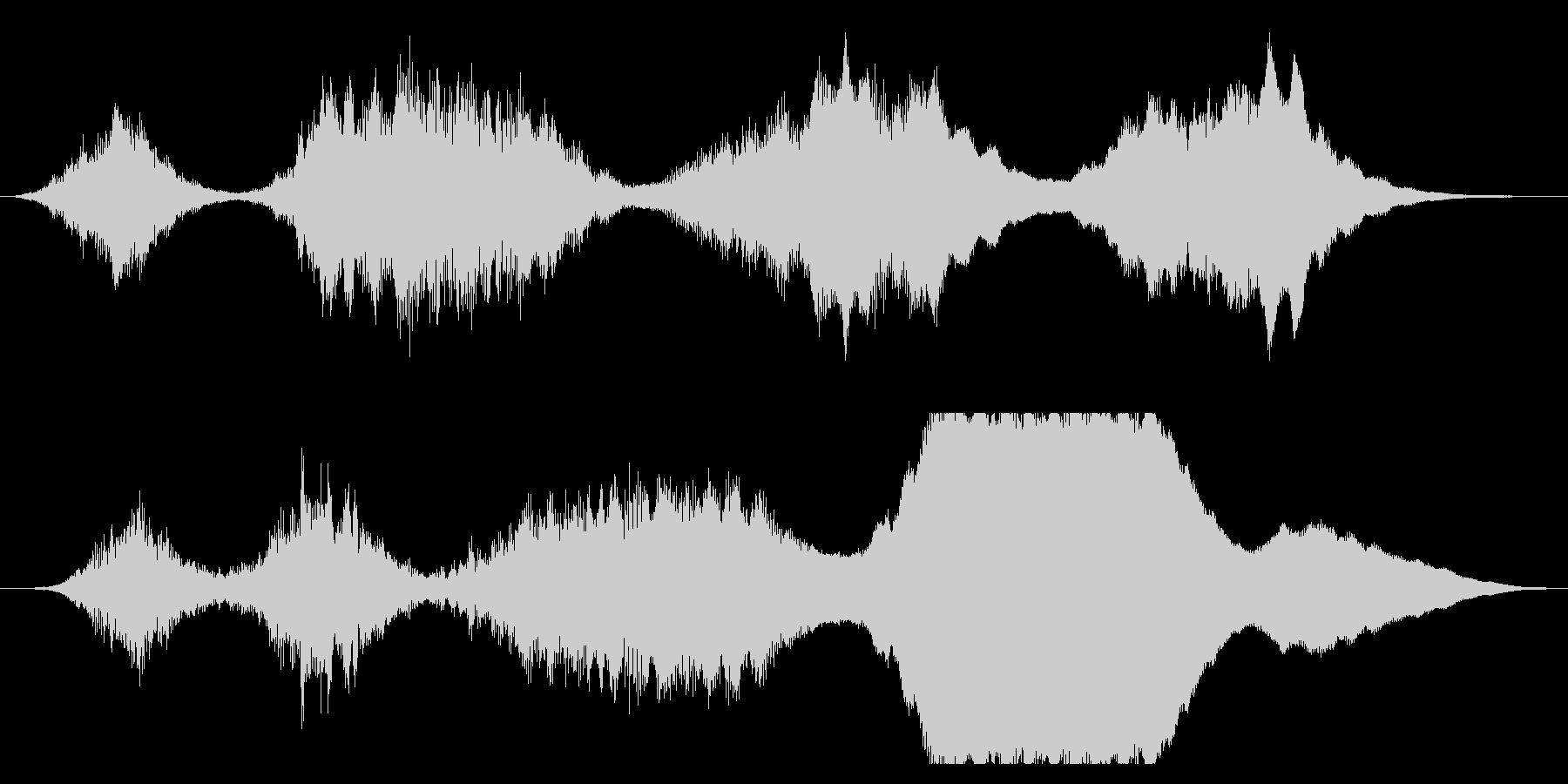 トランジション パッドスイープファ...の未再生の波形