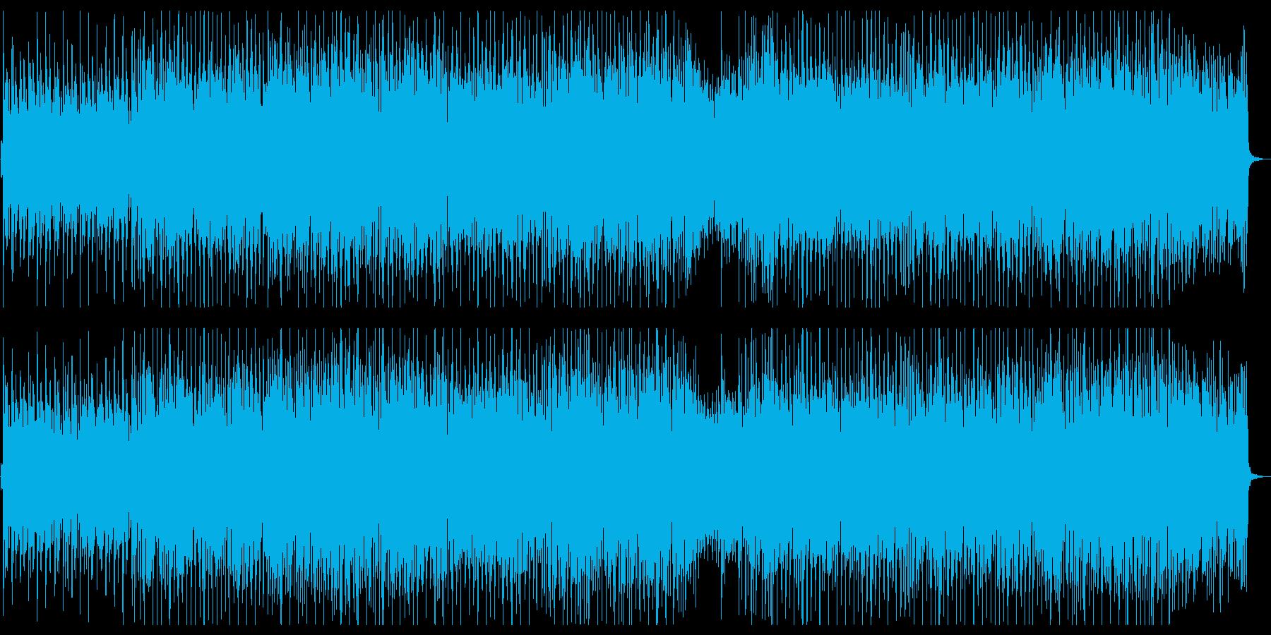 のんびりとした雰囲気のトロピカルハウスの再生済みの波形