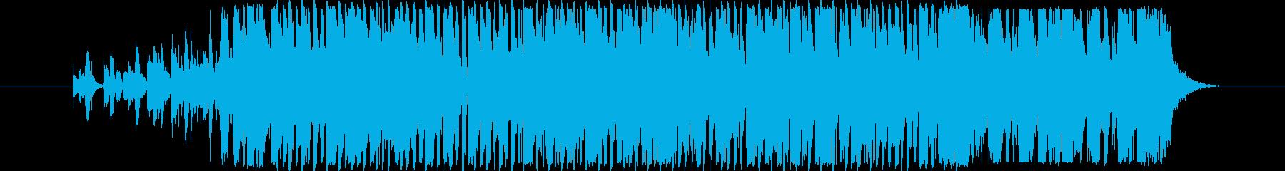 口whiや動物の音がする軽くて面白...の再生済みの波形