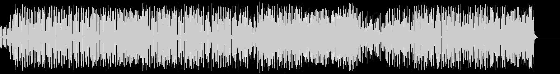 重厚なマイナーエレクトリックポップの未再生の波形