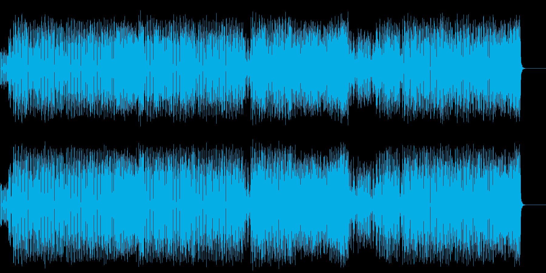 重厚なマイナーエレクトリックポップの再生済みの波形