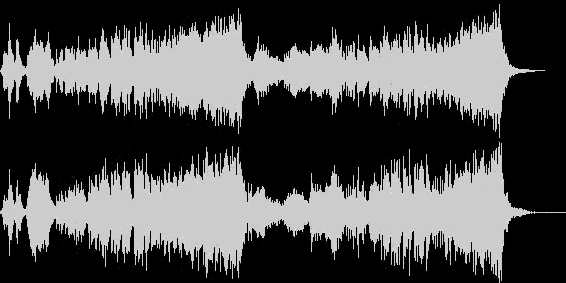 コミカル・パニックな木琴オーケストラの未再生の波形
