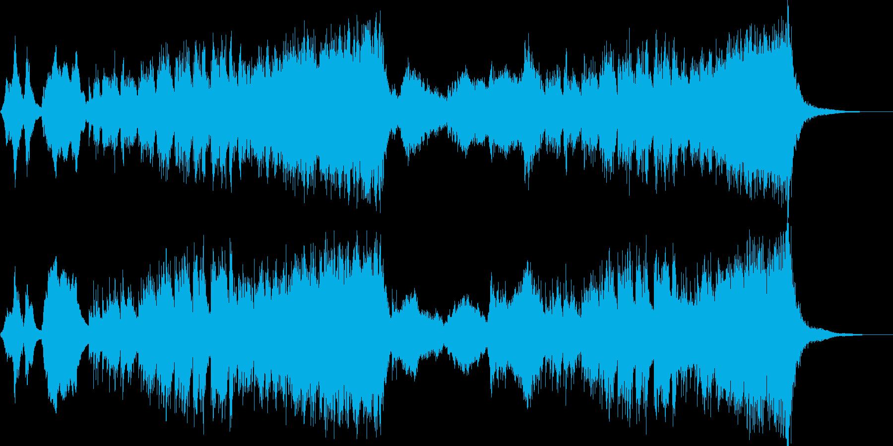 コミカル・パニックな木琴オーケストラの再生済みの波形