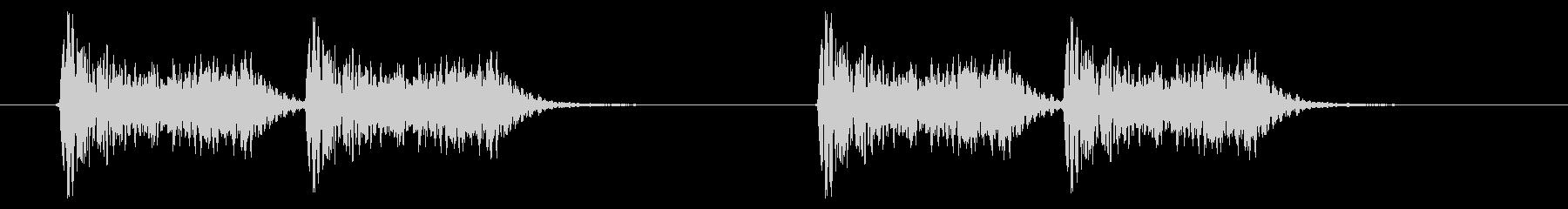 緊急アラート02-3(遠い)の未再生の波形