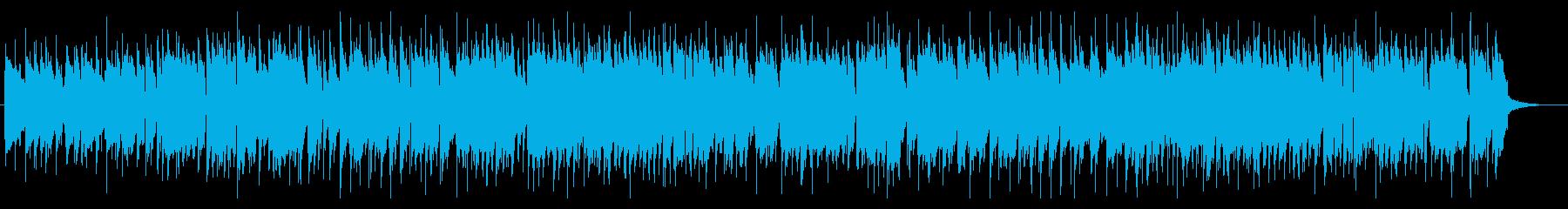 大人なスウィングジャズの再生済みの波形
