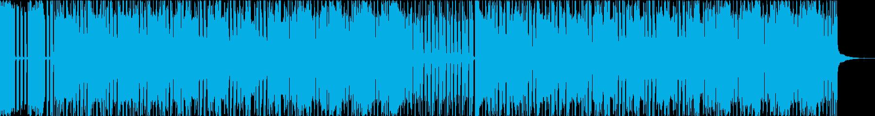 イベント発生!?ドキドキ感ハウス風BGMの再生済みの波形