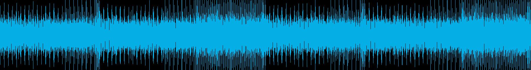 ケルト調の通常戦闘曲(主メロ抜き)の再生済みの波形