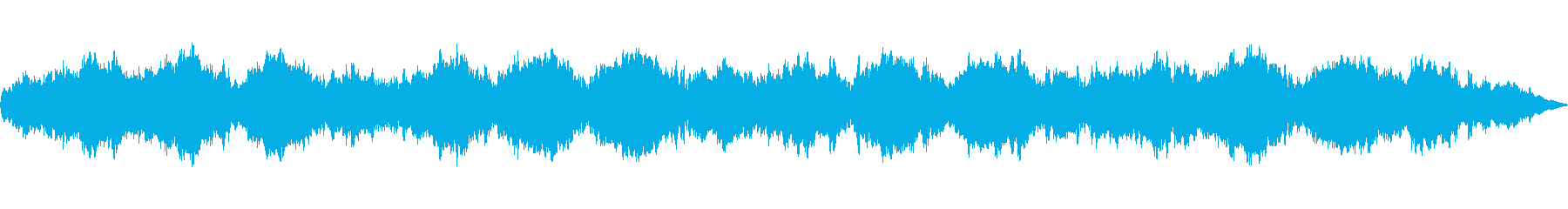 スペース、スロー、ステップ、ターニ...の再生済みの波形