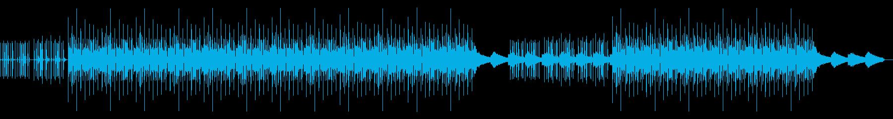 真夜中の夏が似合うブルーなBGMの再生済みの波形
