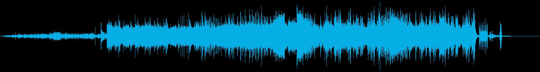 かわいい系のEDMですの再生済みの波形