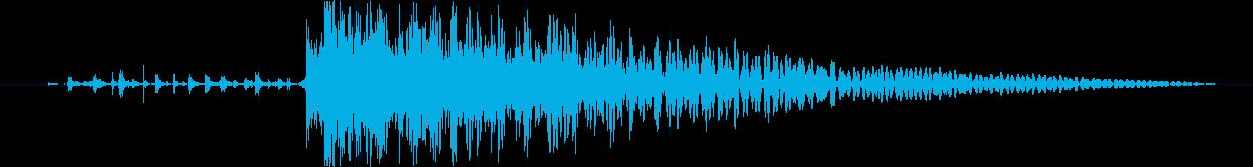 衝撃 スマッシュ05の再生済みの波形