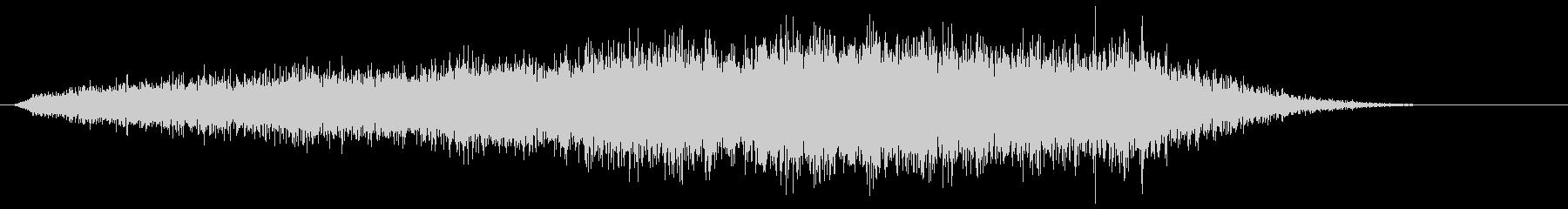 ベッドゴーストリードローンウォッシュの未再生の波形