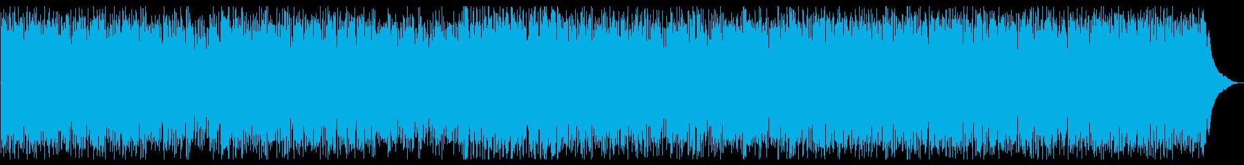 弾むようなムードのラテンジャズグル...の再生済みの波形