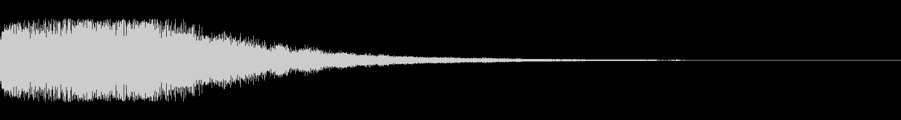 シーン切り替え シンセサイザー1の未再生の波形