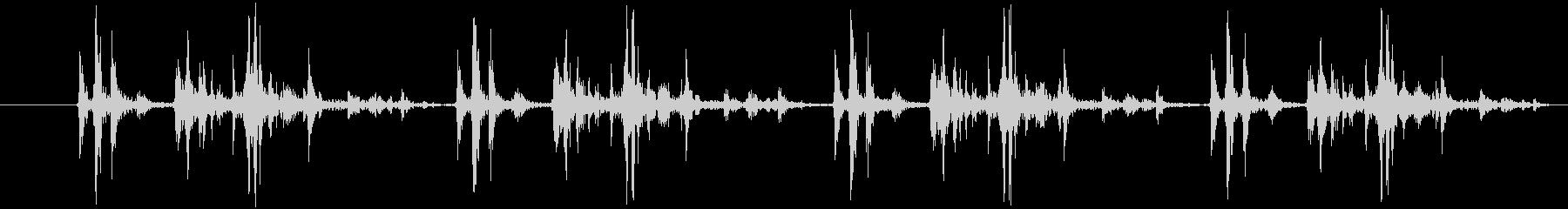 デジタル一眼レフ:4つの高速ショッ...の未再生の波形