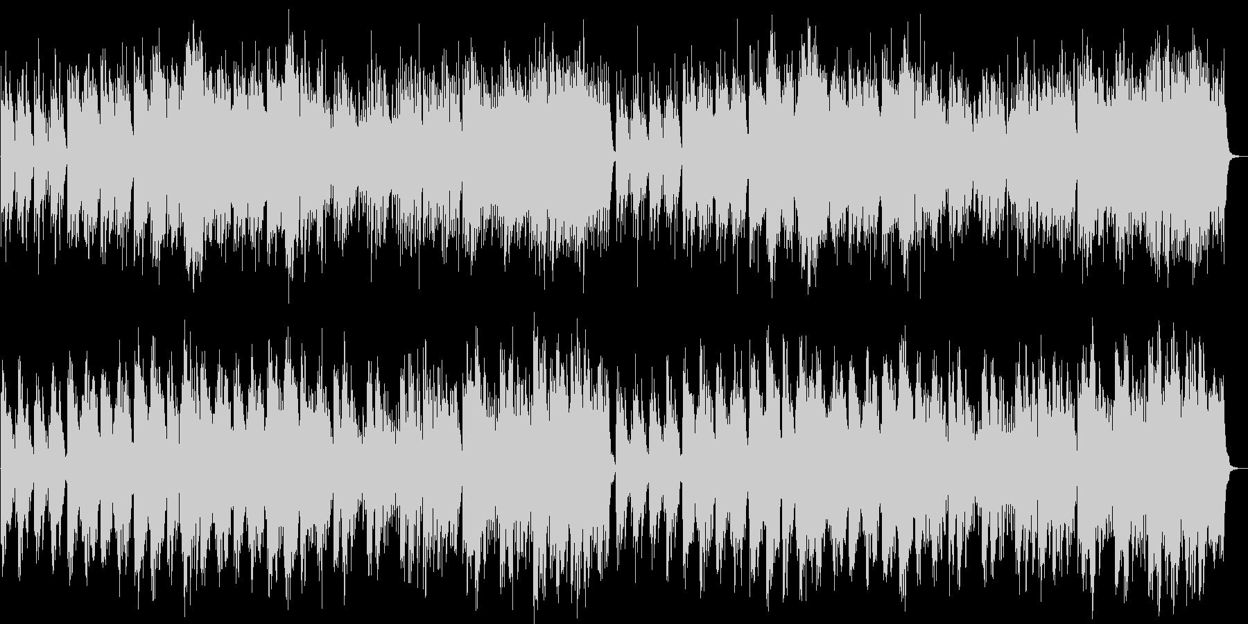 神秘的・幻想的な森のBGMの未再生の波形