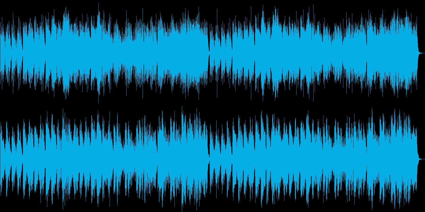 神秘的・幻想的な森のBGMの再生済みの波形