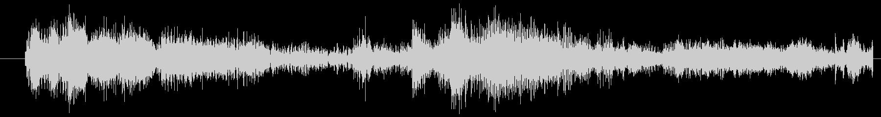 イメージ クレイジートーク03の未再生の波形