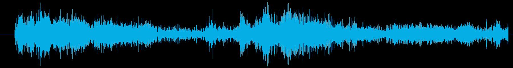 イメージ クレイジートーク03の再生済みの波形