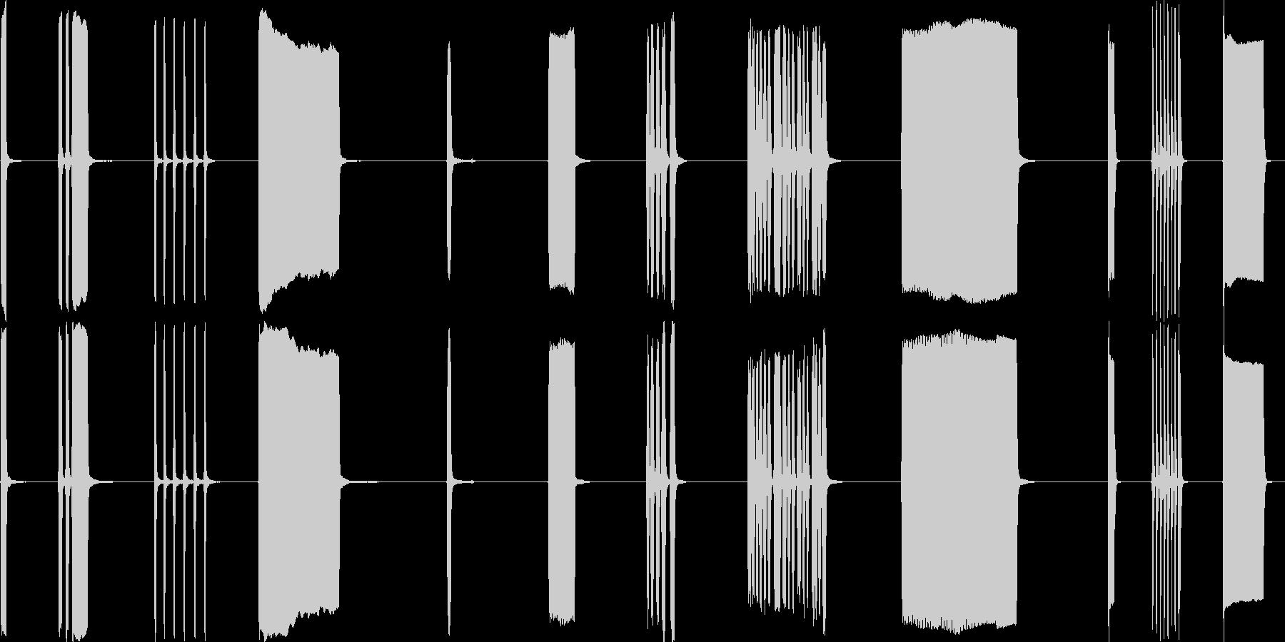 カーホーン、外部、2バージョン、I...の未再生の波形