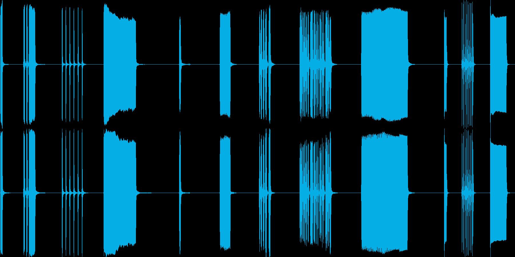 カーホーン、外部、2バージョン、I...の再生済みの波形