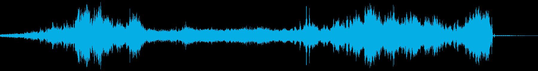 モーターバックワード、ハイピッチ、...の再生済みの波形