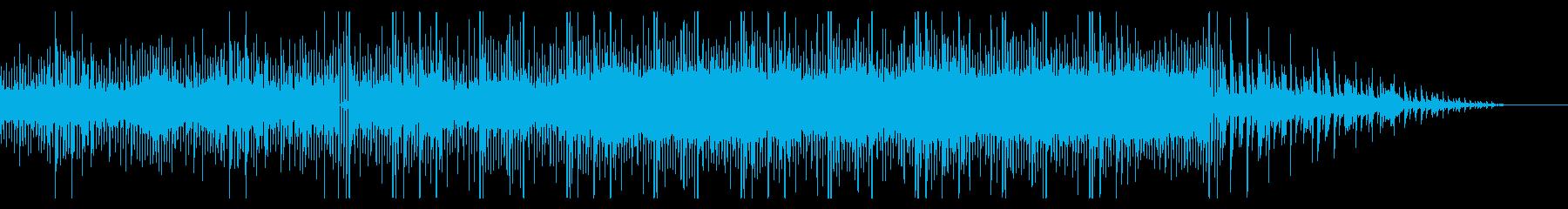 ゆるいレトロフューチャー作品の再生済みの波形