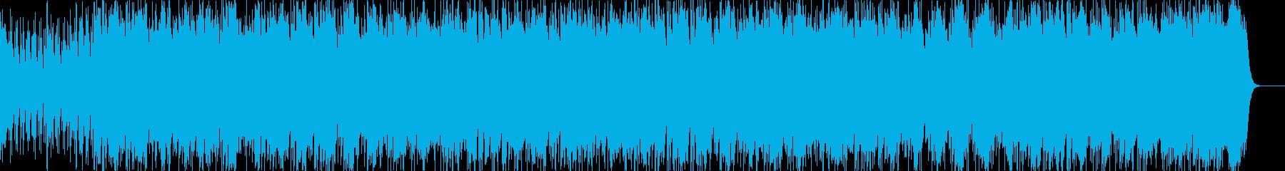 和風ロックです。ベースが響く感じです。の再生済みの波形