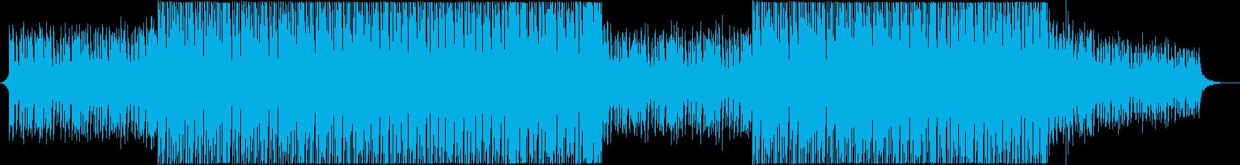 モダン テクノ ハウス ダンス プ...の再生済みの波形