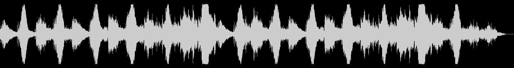 ギターのアルペジオが美しいバラードの未再生の波形