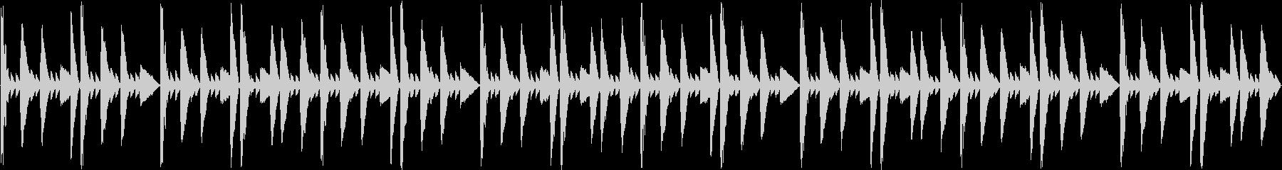 【超シンプル】セレクト(選択)画面の未再生の波形