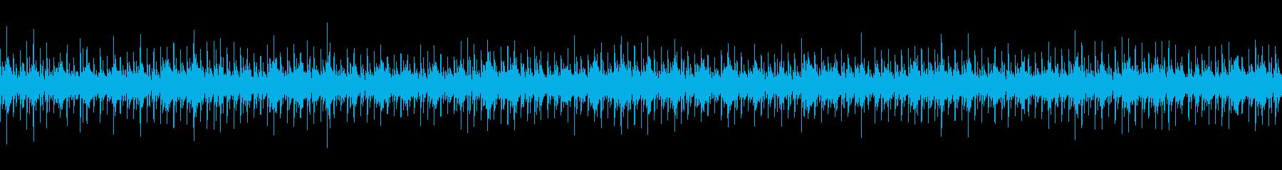 ニュース映像向けマリンバ&鉄琴・ループ可の再生済みの波形