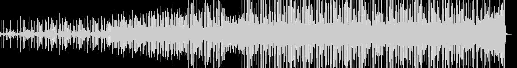 長閑→軽快・徐々にポップスへ展開 Bの未再生の波形