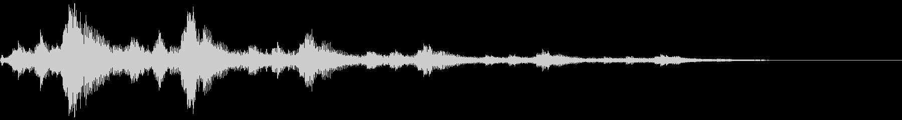 【シネマティックSFX】パルス音_01の未再生の波形