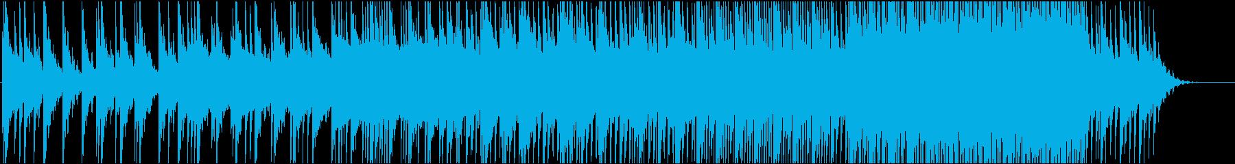 神秘的で温かみのある優しい雰囲気の曲ですの再生済みの波形