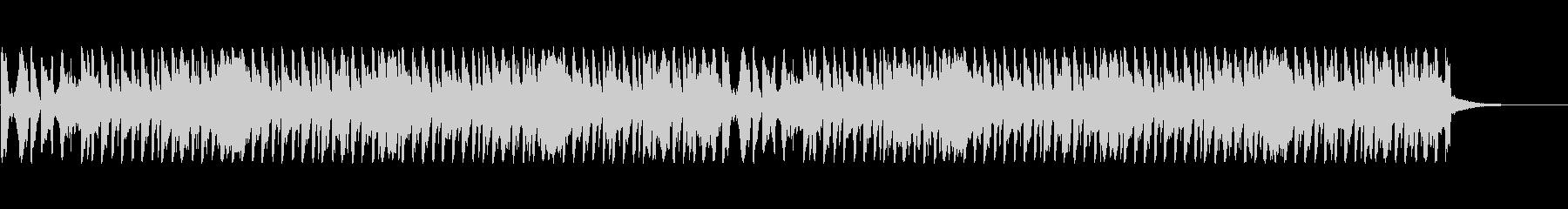 ショルダーシェイクの未再生の波形