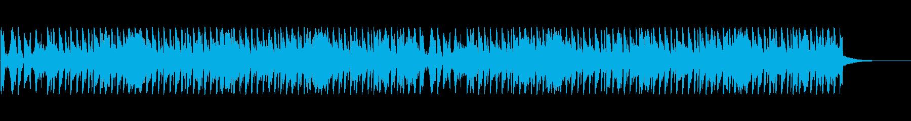 ショルダーシェイクの再生済みの波形