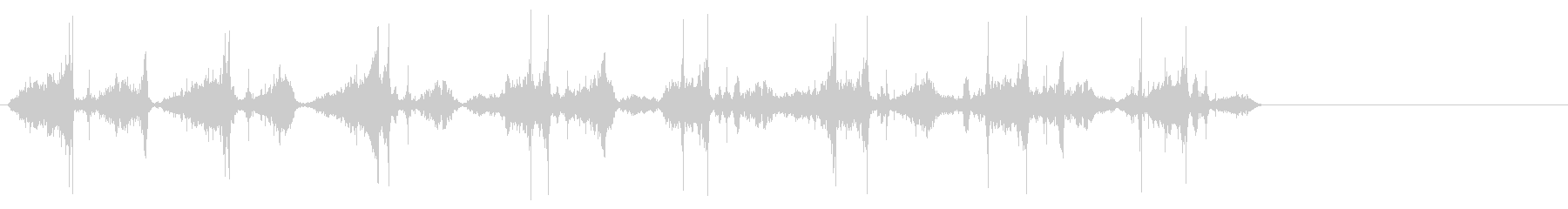 ハートビープマシン;左チャンネルの...の未再生の波形
